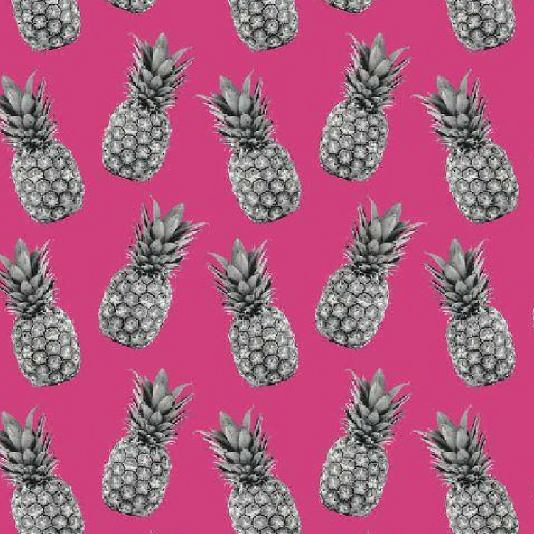 BAUMWOLLE PINEAPPLE PROOF - PINK - 0