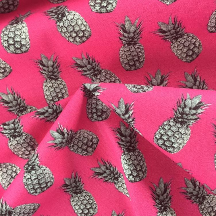 BAUMWOLLE PINEAPPLE PROOF - PINK - 1