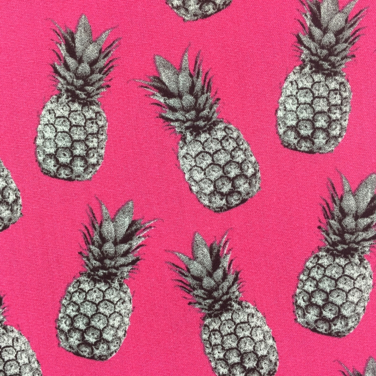 BAUMWOLLE PINEAPPLE PROOF - PINK - 3