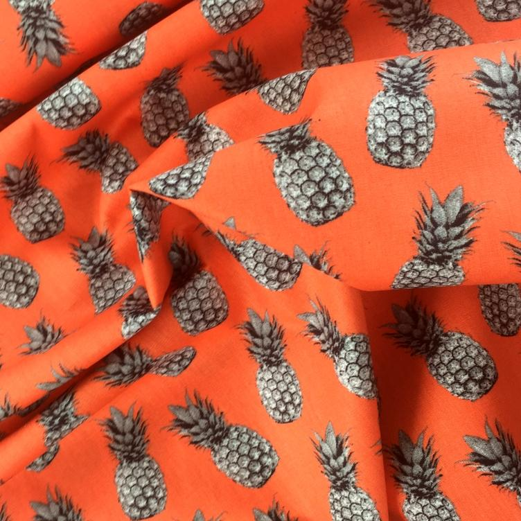BAUMWOLLE PINEAPPLE PROOF - ORANGE - 1
