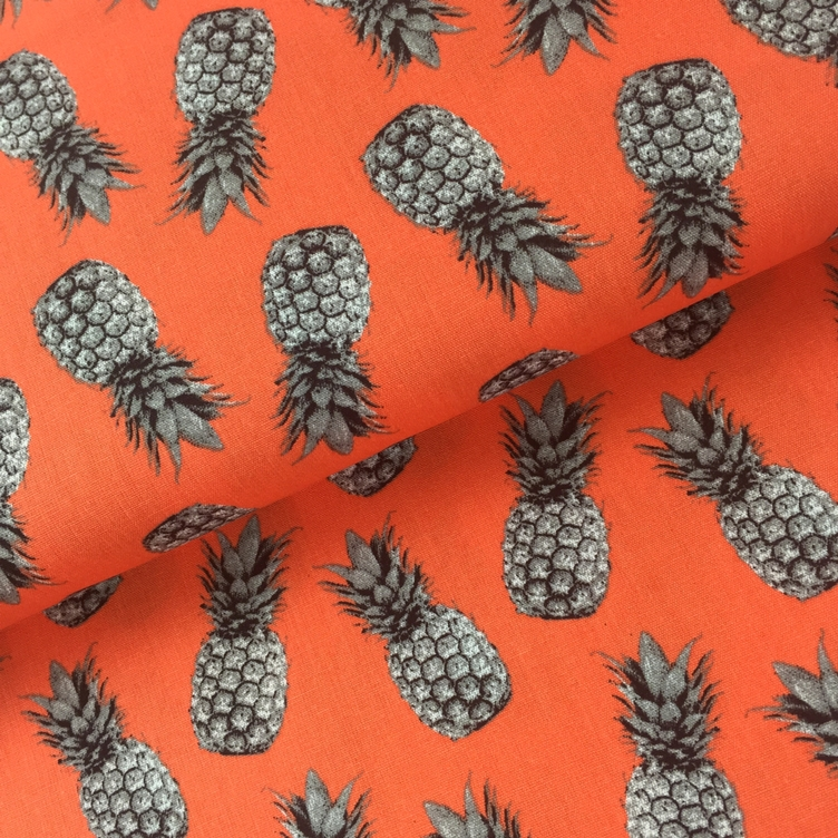 BAUMWOLLE PINEAPPLE PROOF - ORANGE