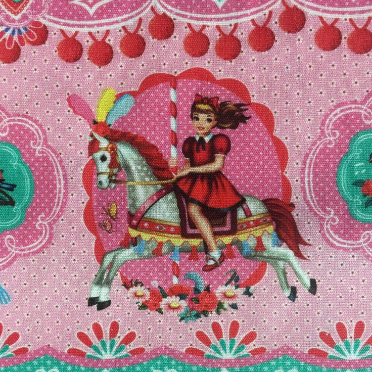 BAUMWOLLE FAIRGROUND GIRL - MINT ROSA - 1