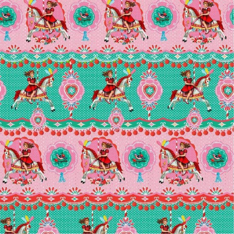 BAUMWOLLE FAIRGROUND GIRL - MINT ROSA - 0