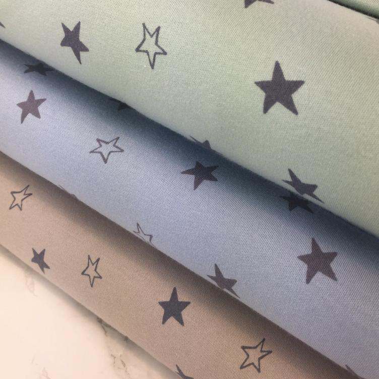 BIO JERSEY STARS - DUSTY BLUE - 2
