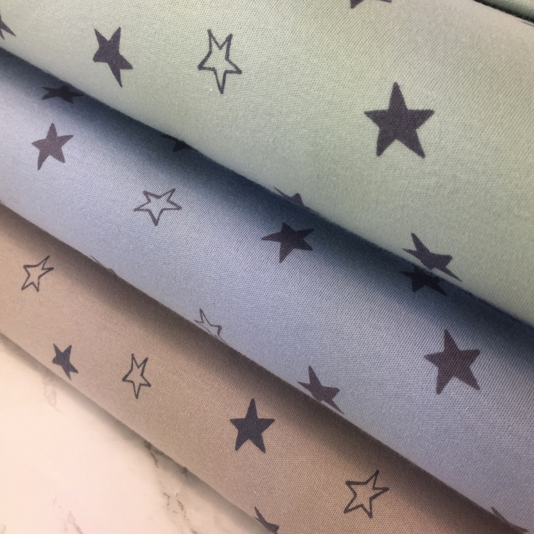 BIO JERSEY STARS - DUSTY BLUE - 0