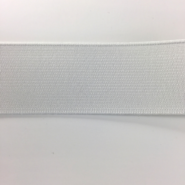 GUMMIBAND 30MM - WEISS (2.5 METER) - 0