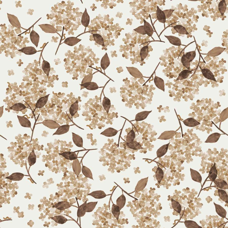 FRENCH TERRY FAMILY FABRICS DESIGN - HORTENSIA BLUSH