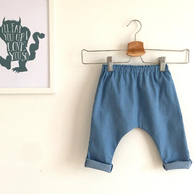 CHAMBRAY - BLEACHED BLUE - 1