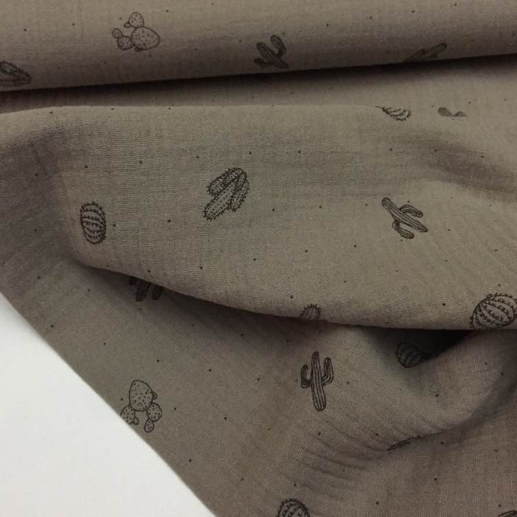 MUSSELIN CACTUS - TAUPE - 2