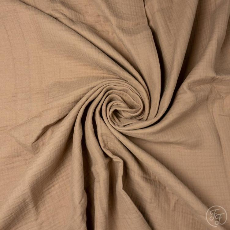 MUSSELIN FAMILY FABRICS - ALMOND