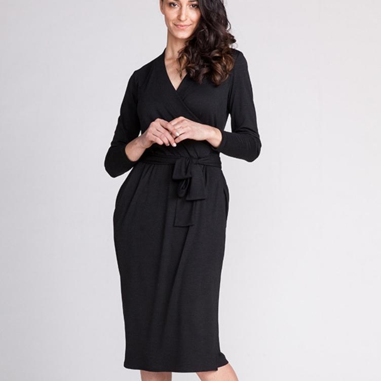 OLIVIA WRAP DRESS - NAMED