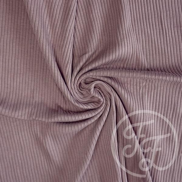 PURPLE DOVE HEAVY RIB JERSEY FAMILY FABRICS