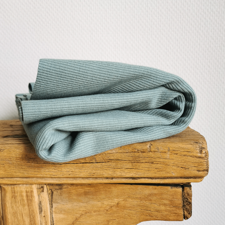 RIB JERSEY - DUSTY MINT